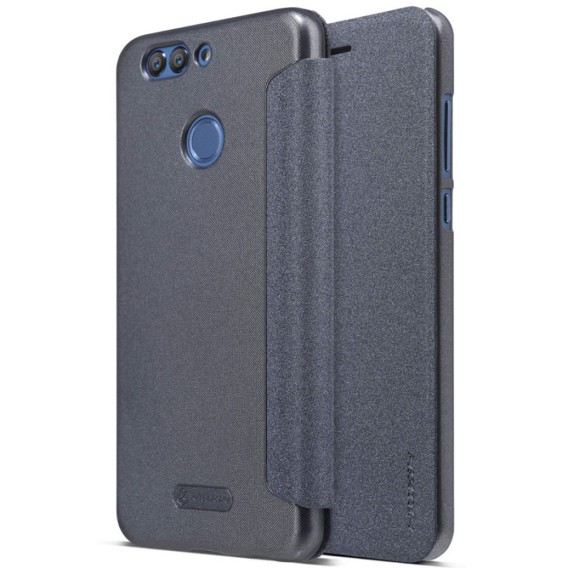 Кожаный чехол (книжка) Nillkin Sparkle Series для Huawei Nova 2 Plus