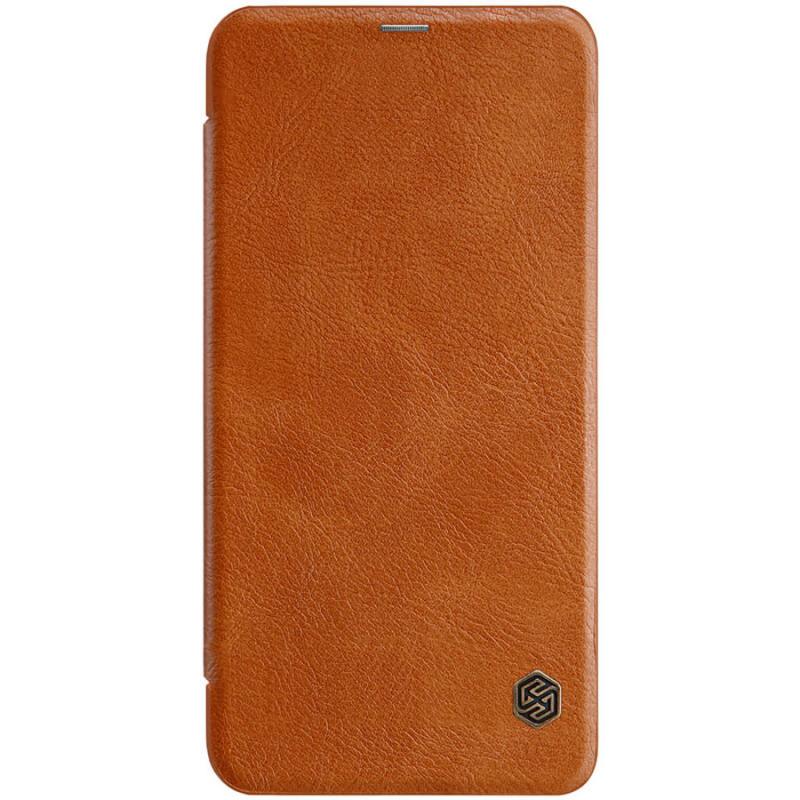 Кожаный чехол (книжка) Nillkin Qin Series для Xiaomi Redmi Note 8