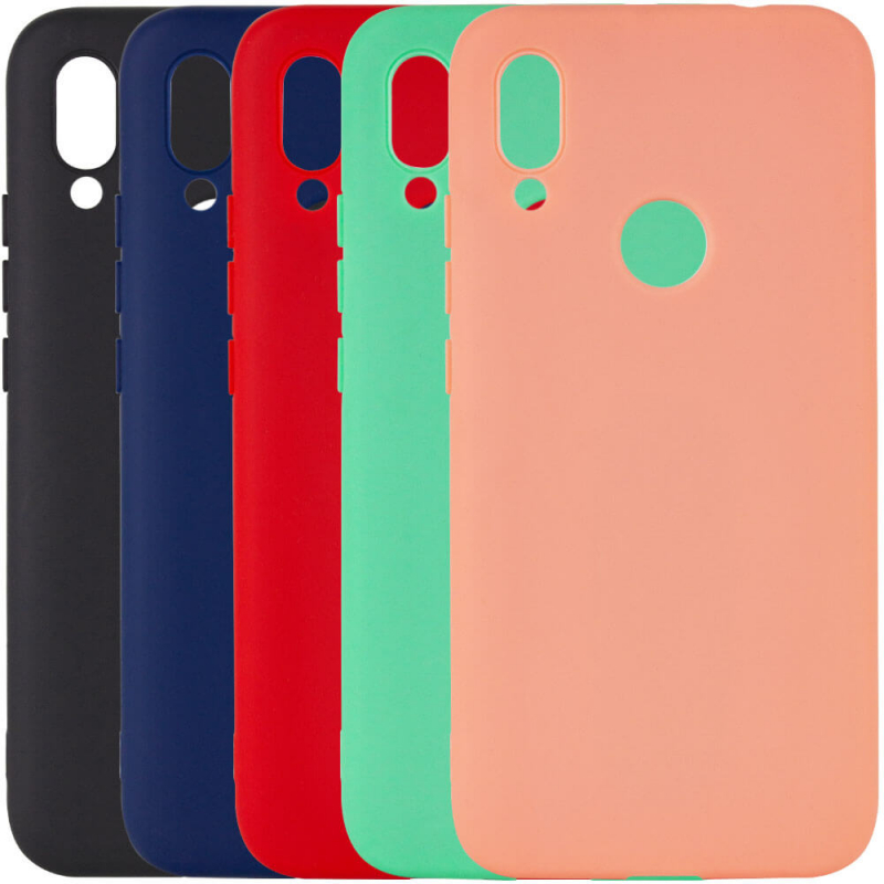 Чехол Silicone Cover with Magnetic для Xiaomi Redmi Note 7 / Note 7 Pro / Note 7s
