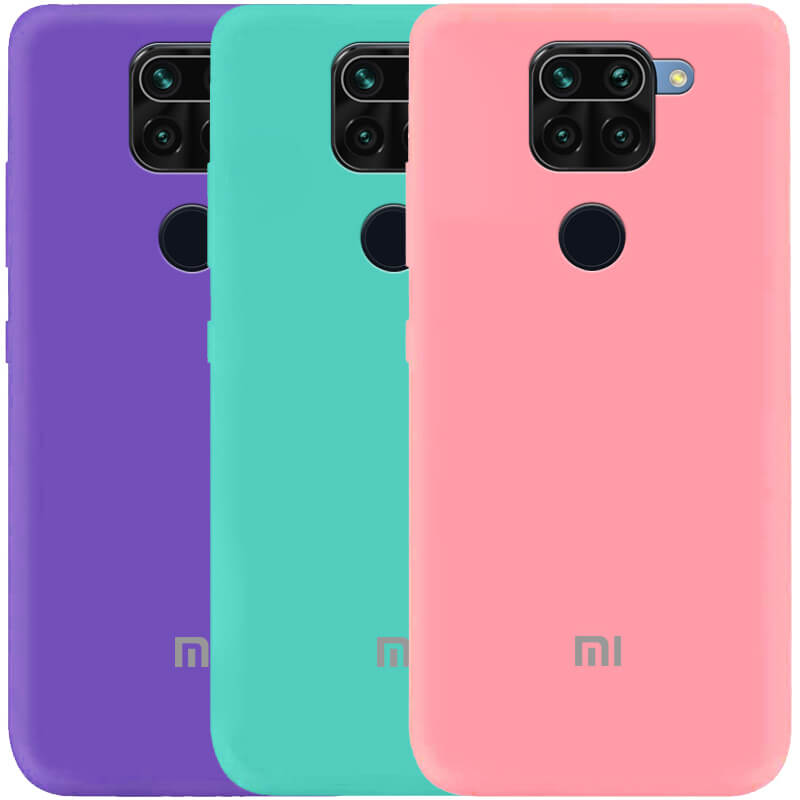 Чехол Silicone Cover My Color Full Protective (A) для Xiaomi Redmi Note 9 / Redmi 10X