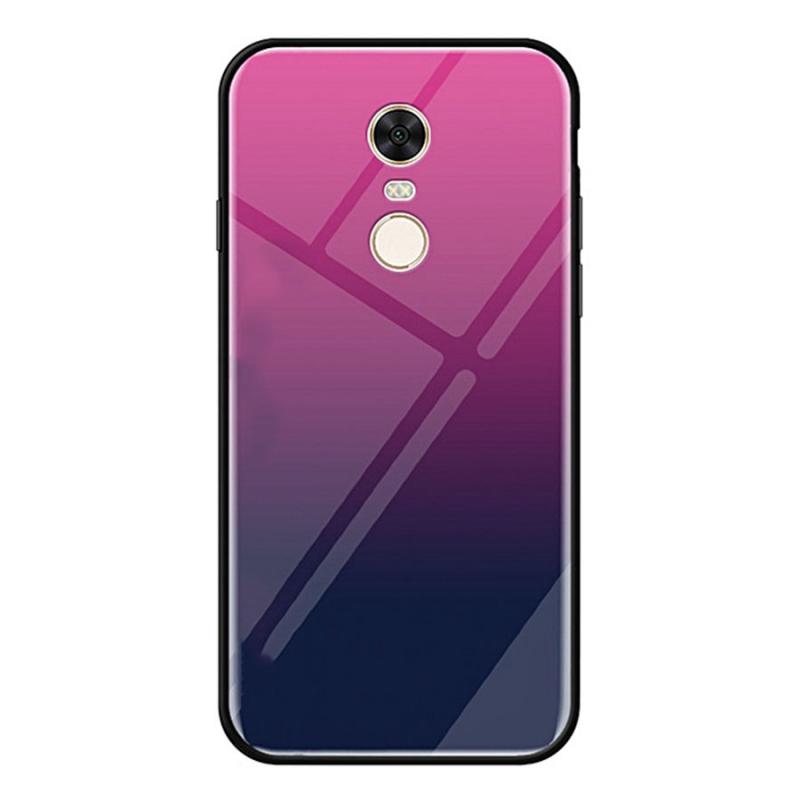 TPU+Glass чехол Gradient series для Xiaomi Redmi 5 Plus / Redmi Note 5 (SC)