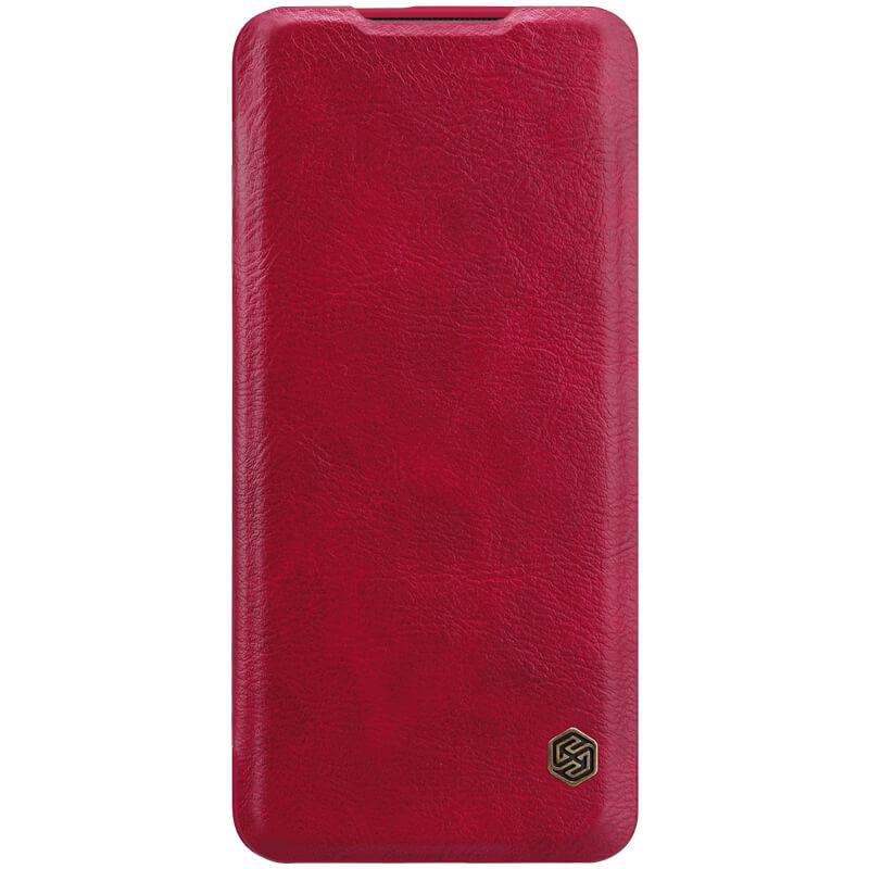 Кожаный чехол (книжка) Nillkin Qin Series для OnePlus 7 Pro