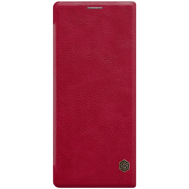 Кожаный чехол (книжка) Nillkin Qin Series для Sony Xperia 10 Plus
