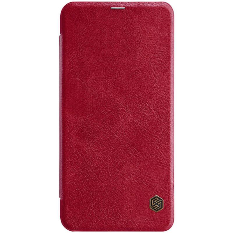 Кожаный чехол (книжка) Nillkin Qin Series для Xiaomi Redmi Note 8 Pro