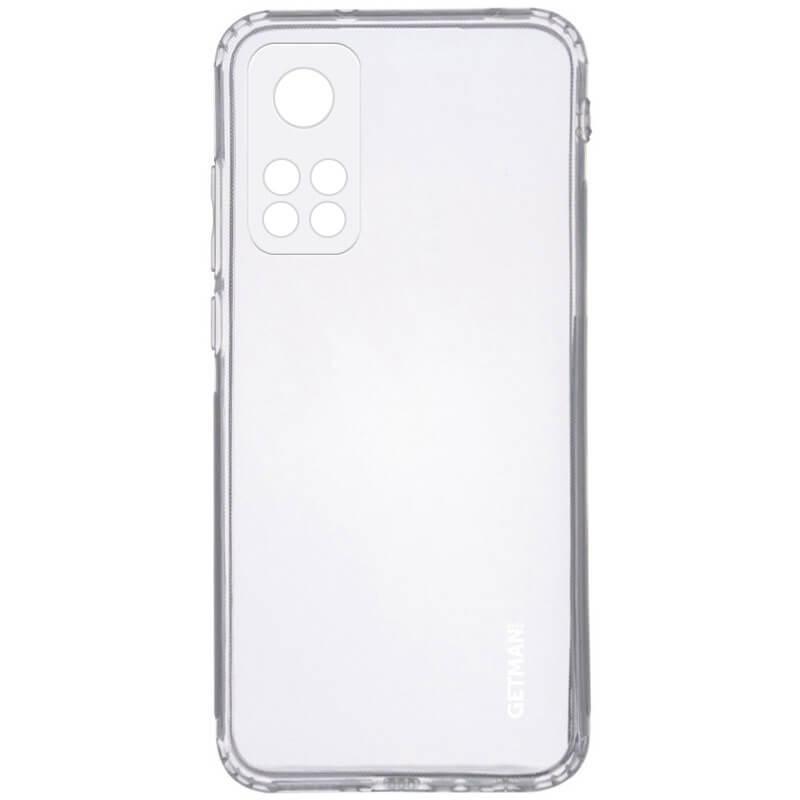 TPU чехол GETMAN Clear 1,0 mm для Xiaomi Mi 10T / Mi 10T Pro
