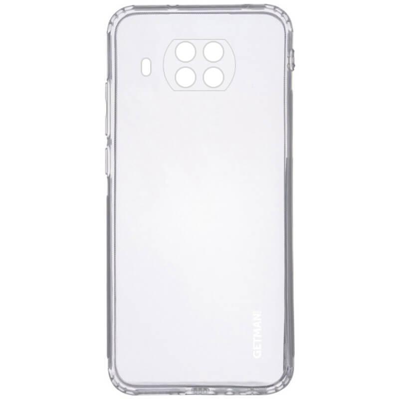 TPU чехол GETMAN Clear 1,0 mm для Xiaomi Mi 10T Lite / Redmi Note 9 Pro 5G