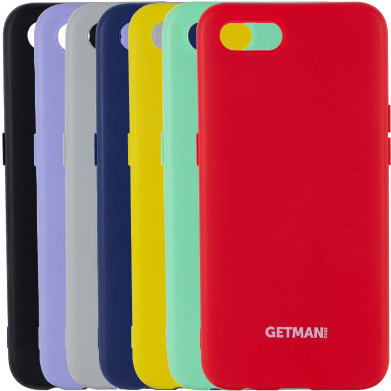 "Чехол Silicone Case GETMAN for Magnet для Apple iPhone 8 / SE (2020) (4.7"")"