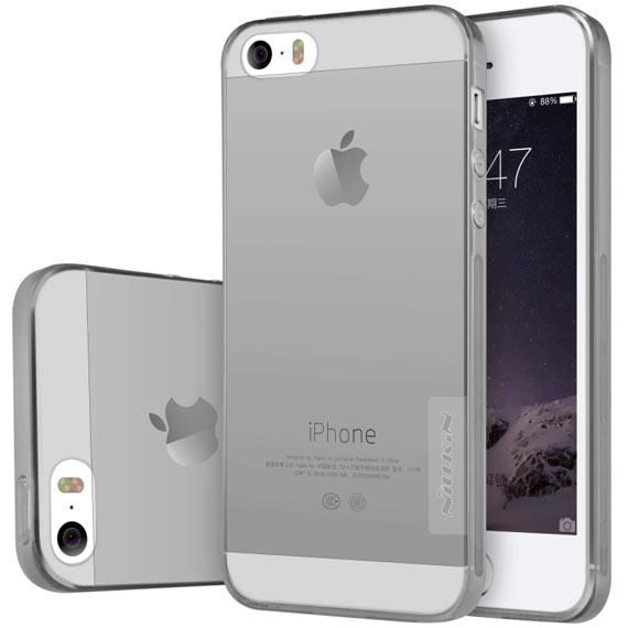 TPU чехол Nillkin Nature Series для Apple iPhone 5/5S/SE