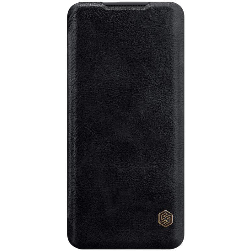 Кожаный чехол (книжка) Nillkin Qin Series для OnePlus 7T Pro