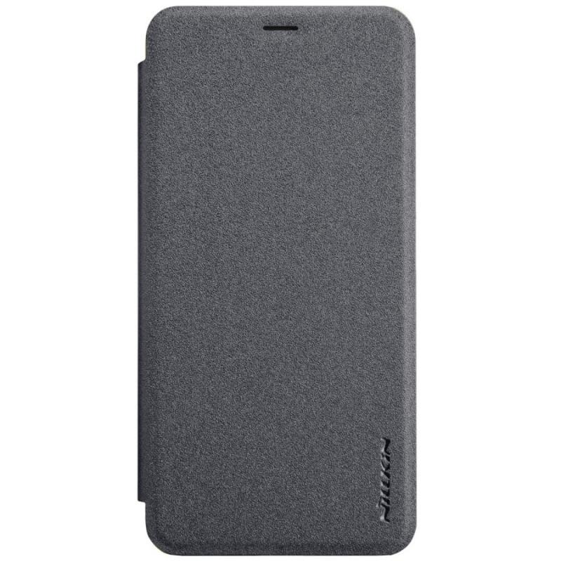 Кожаный чехол (книжка) Nillkin Sparkle Series для Sony Xperia XZ3