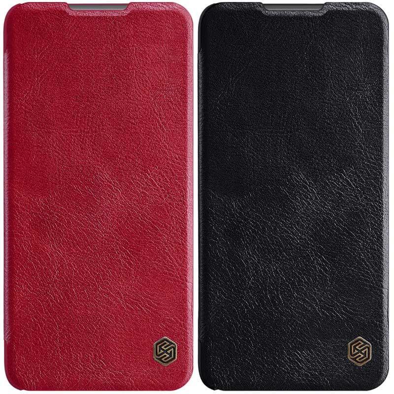 Кожаный чехол (книжка) Nillkin Qin Series для Samsung Galaxy Note 20 Plus
