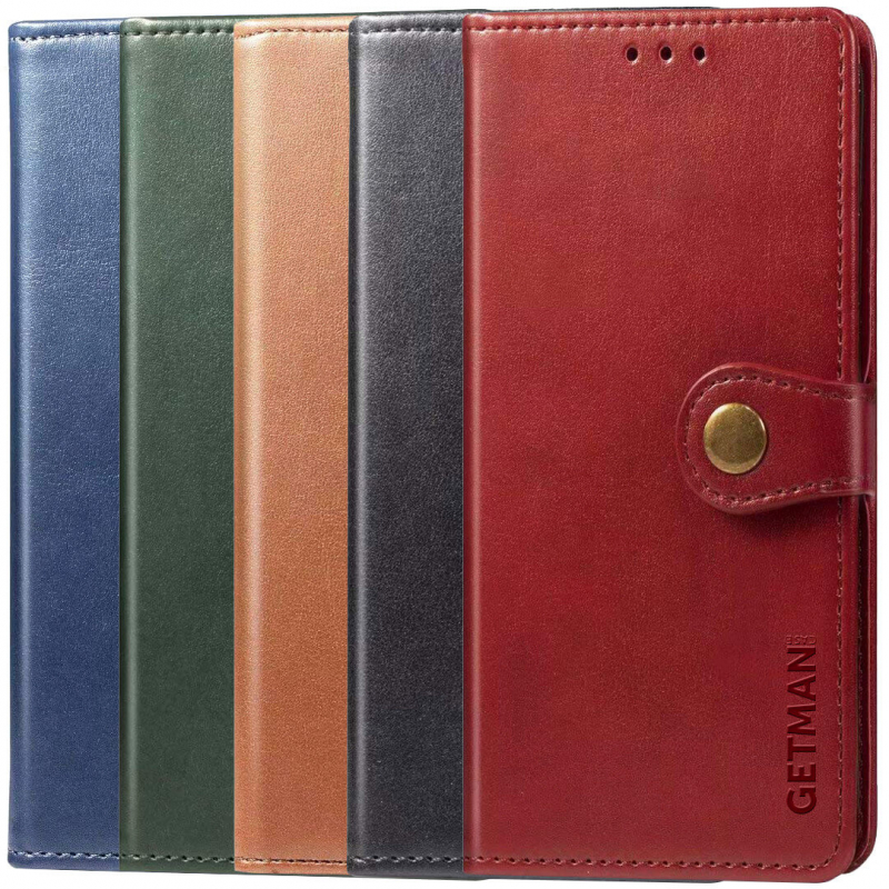 Кожаный чехол книжка GETMAN Gallant (PU) для Samsung Galaxy M31s