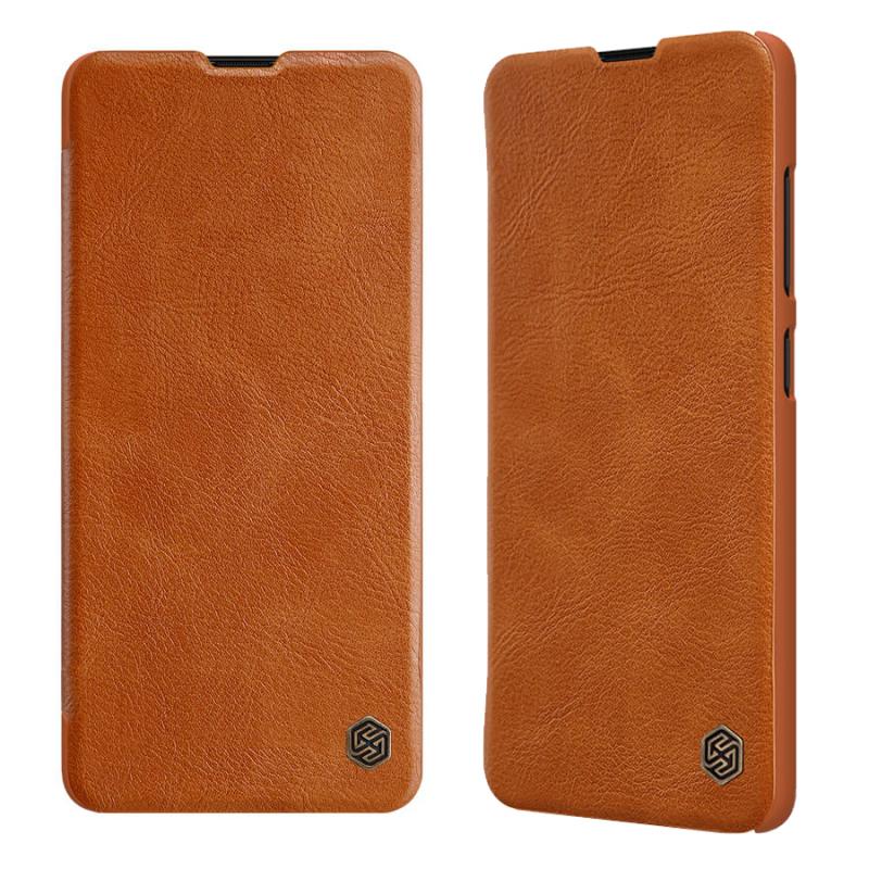 Кожаный чехол (книжка) Nillkin Qin Series для Samsung Galaxy S20