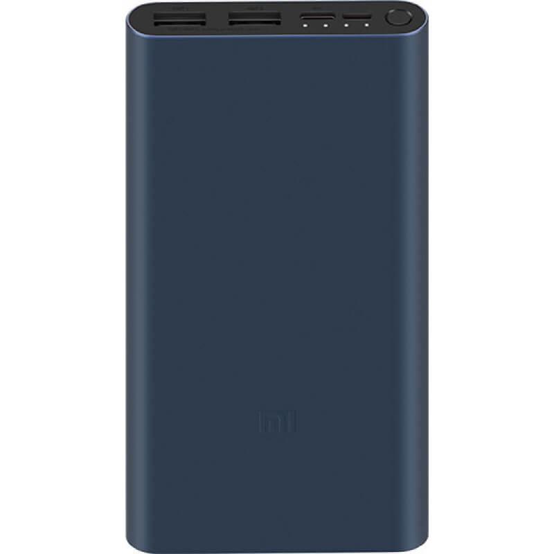 Портативное зарядное устройство Xiaomi Mi Power Bank 3 10000mAh (PLM13ZM)