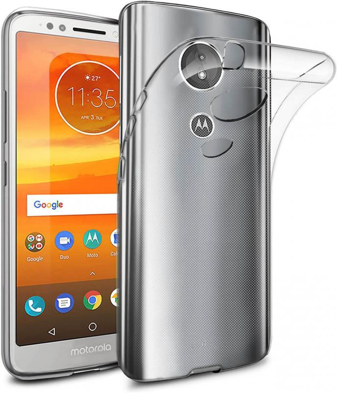 TPU чехол Epic Transparent 1,0mm для Motorola Moto E5 / G6 Play