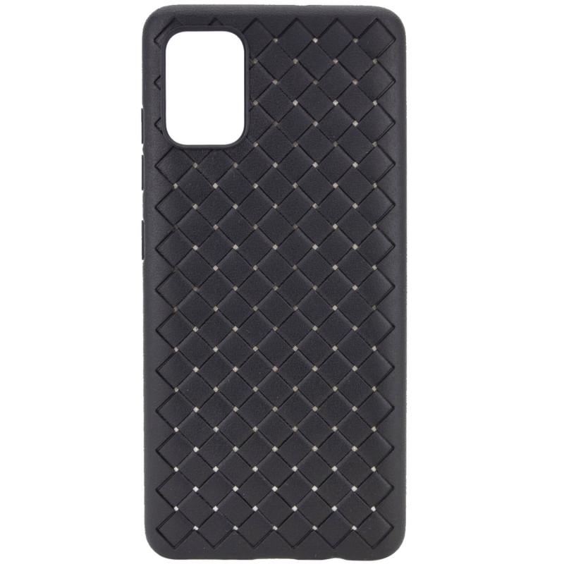 PU чехол-накладка Epik Weaving series для OnePlus 8T