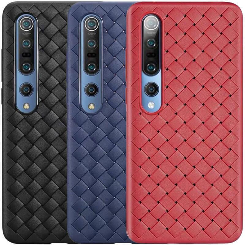 PU чехол-накладка Epik Weaving series для Xiaomi Mi 10 / Mi 10 Pro
