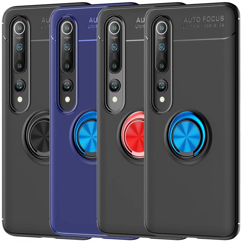 TPU чехол Deen ColorRing под магнитный держатель (opp) для Xiaomi Mi 10 / Mi 10 Pro
