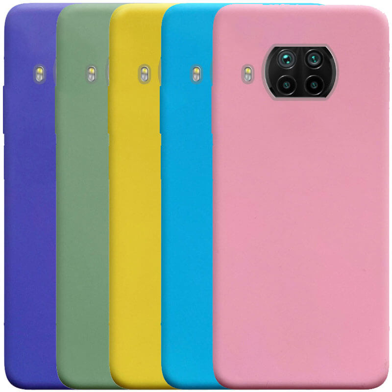 Силиконовый чехол Candy для Xiaomi Mi 10T Lite / Redmi Note 9 Pro 5G
