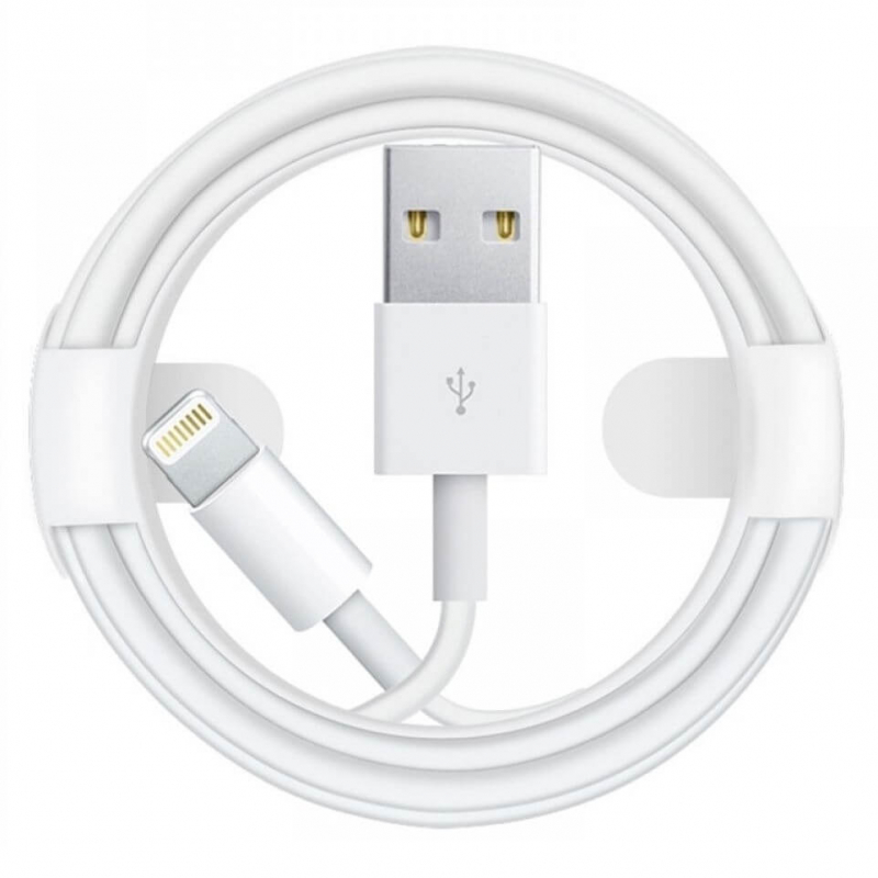 Дата кабель Foxconn для Apple iPhone USB to Lightning (AA grade) (1m) (box)