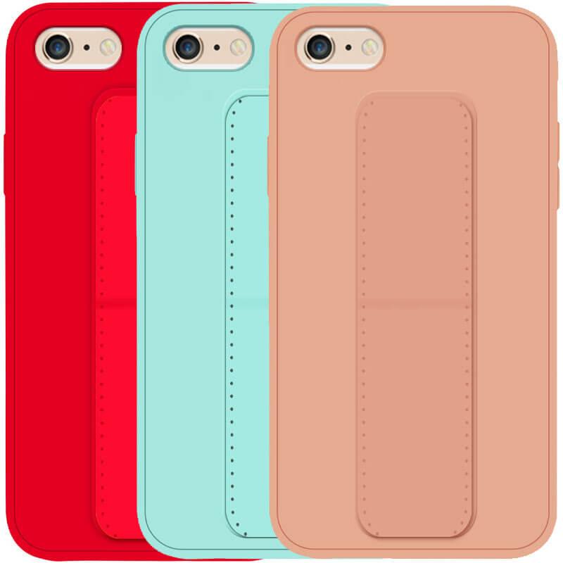 """Силиконовый чехол Hand holder для Apple iPhone 6 / 6s / 7 / 8 / SE (2020) (4.7"""")"""