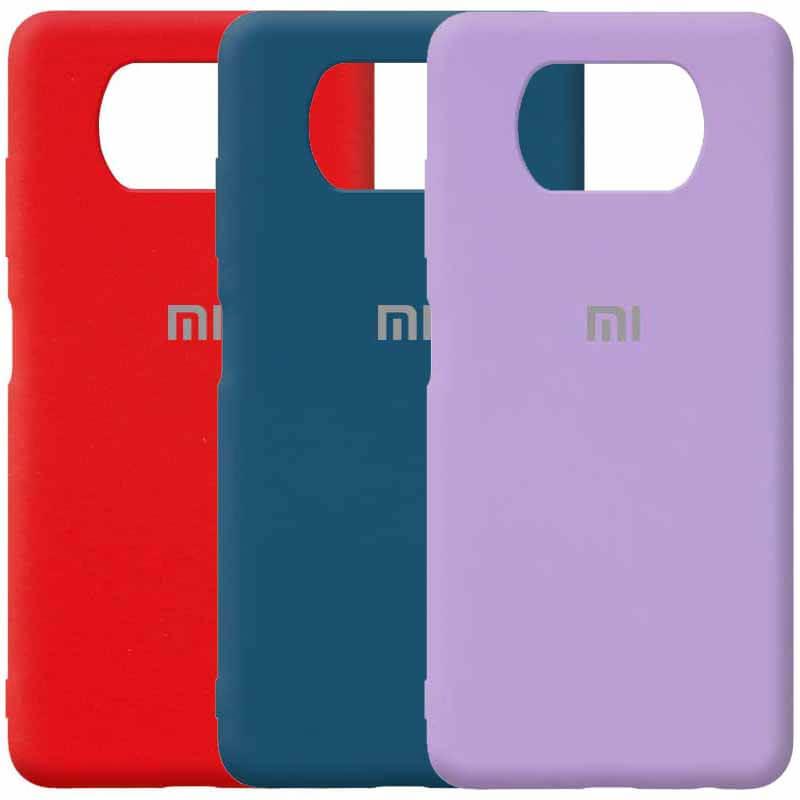 Чехол Silicone Cover Full Protective (AA) для Xiaomi Poco X3 NFC