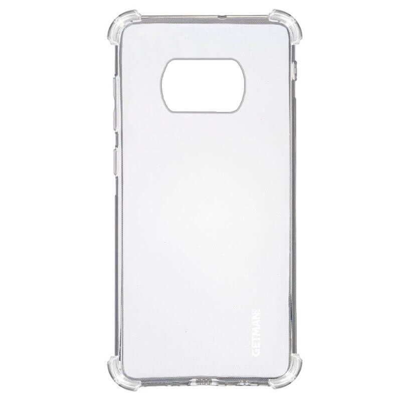 TPU чехол GETMAN Ease logo усиленные углы для Xiaomi Poco X3 NFC