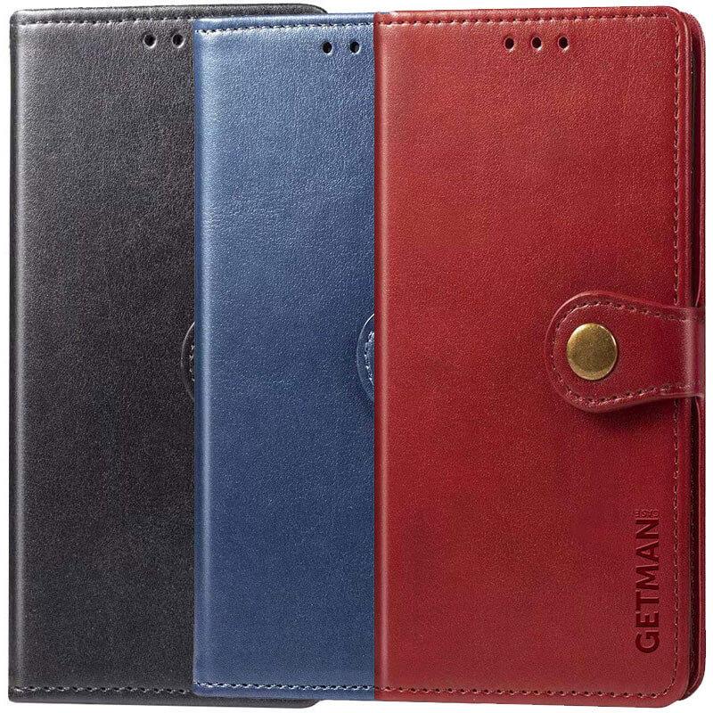 Кожаный чехол книжка GETMAN Gallant (PU) для Samsung Galaxy A12