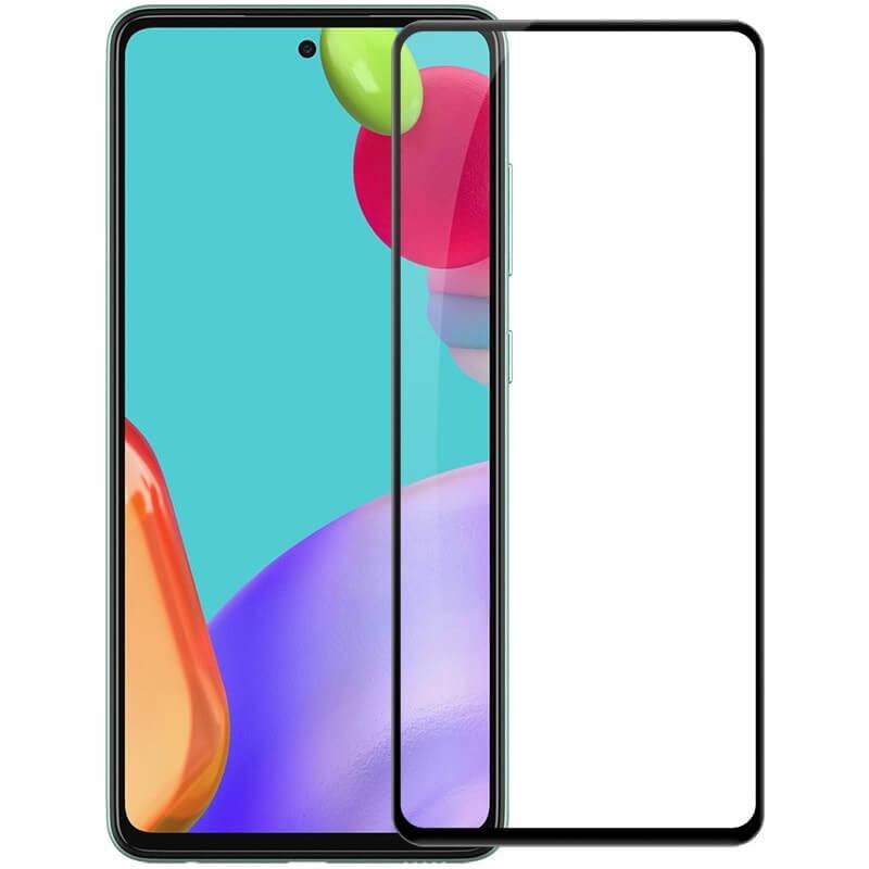 Защитное стекло 2.5D CP+ (full glue) для Samsung Galaxy A52 4G / A52 5G