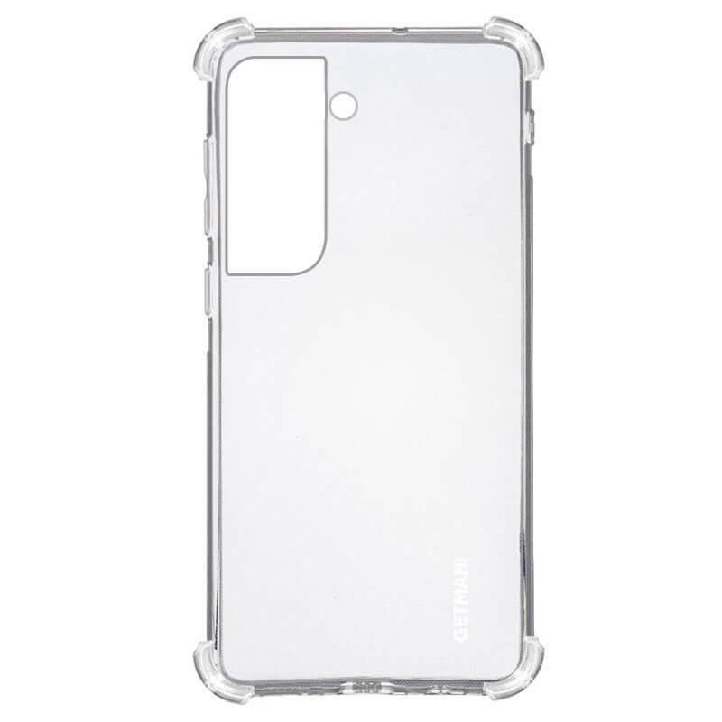TPU чехол GETMAN Ease logo усиленные углы для Samsung Galaxy S21