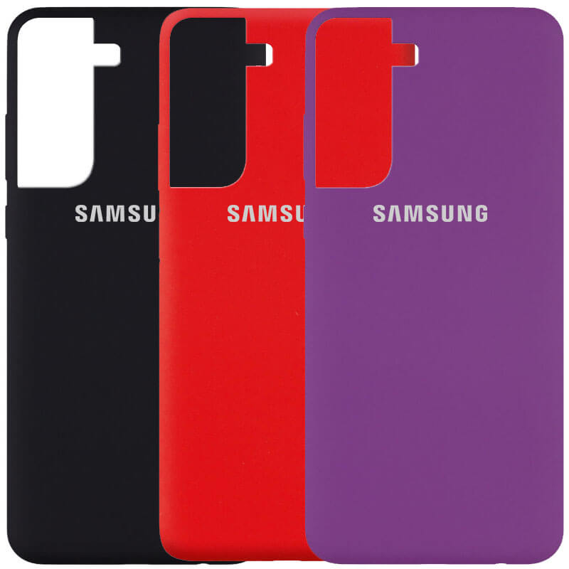 Чехол Silicone Cover (AA) для Samsung Galaxy S21