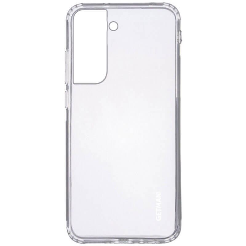 TPU чехол GETMAN Clear 1,0 mm для Samsung Galaxy S21