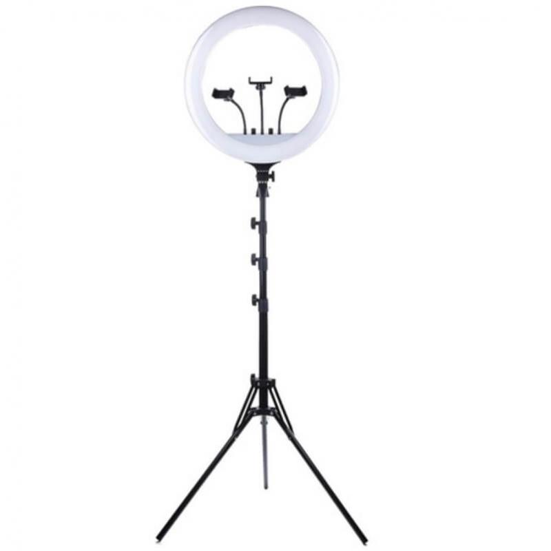 Кольцевая лампа RL-18 45 см, 480 диодов (с сумкой)
