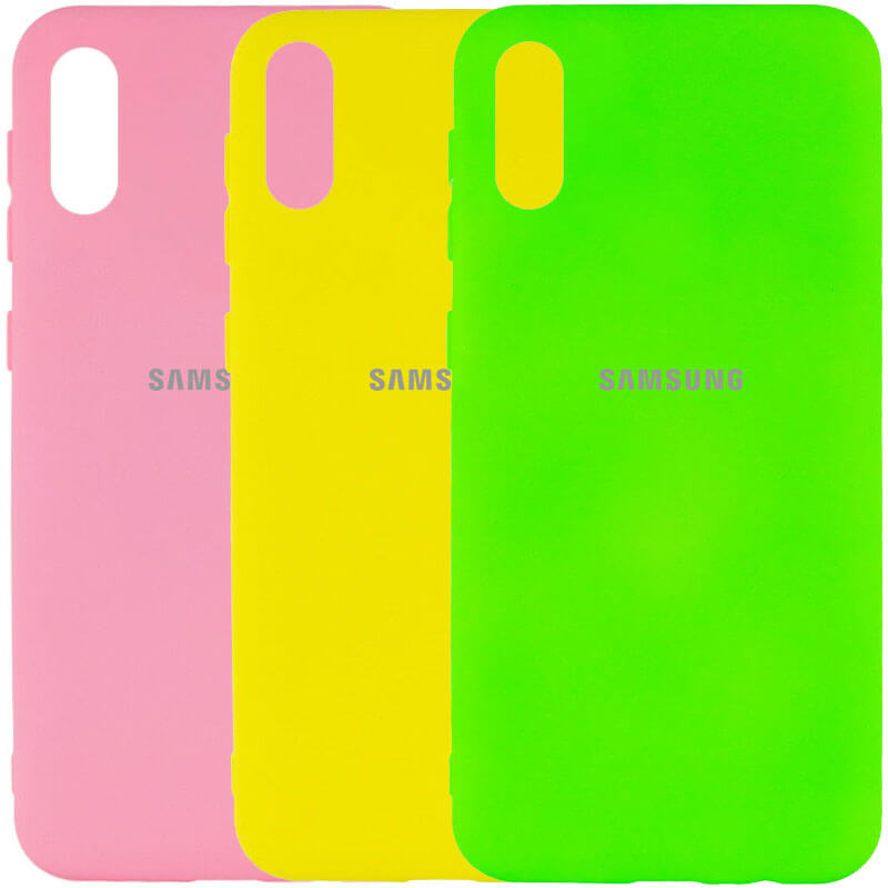 Чехол Silicone Cover My Color Full Protective (A) для Samsung Galaxy A02