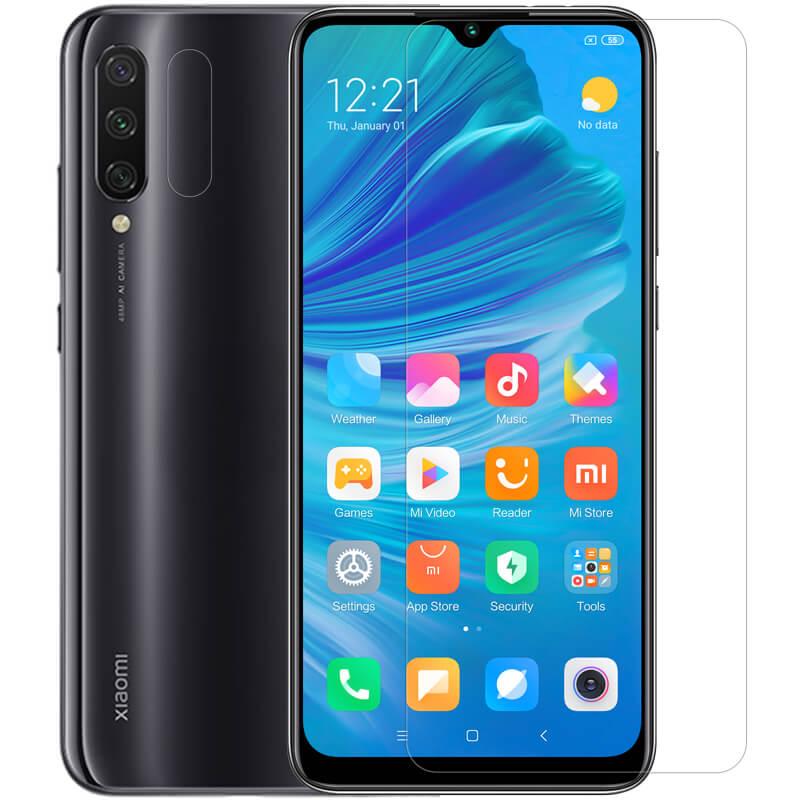Защитная пленка Nillkin Crystal (+ пленка на зад. камеру) для Xiaomi Mi A3 (CC9e)