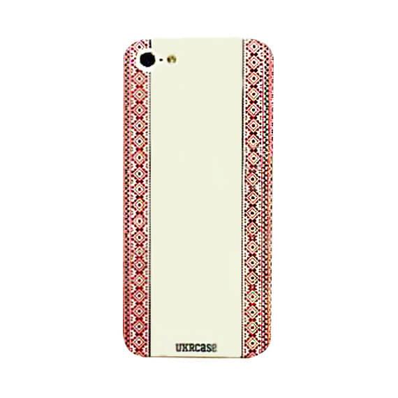 "Пластиковая накладка (Ukrcase) ""Рушник"" для Apple iPhone 5/5S/SE"