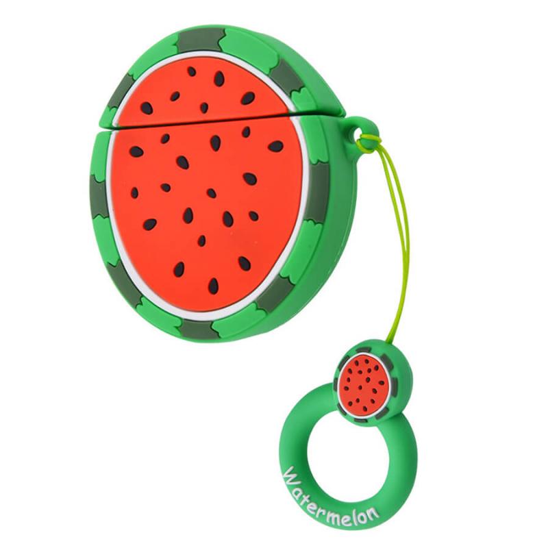 Силиконовый футляр Smile Fruits series для наушников AirPods