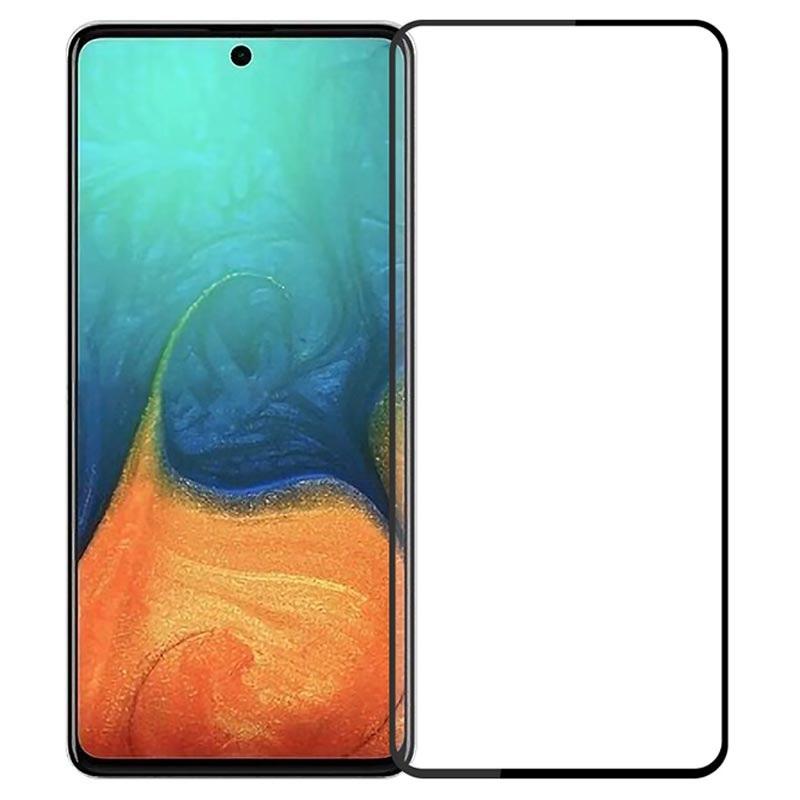 Защитное цветное стекло Mocoson 5D (full glue) для Samsung Galaxy A71 / Note 10 Lite / M51