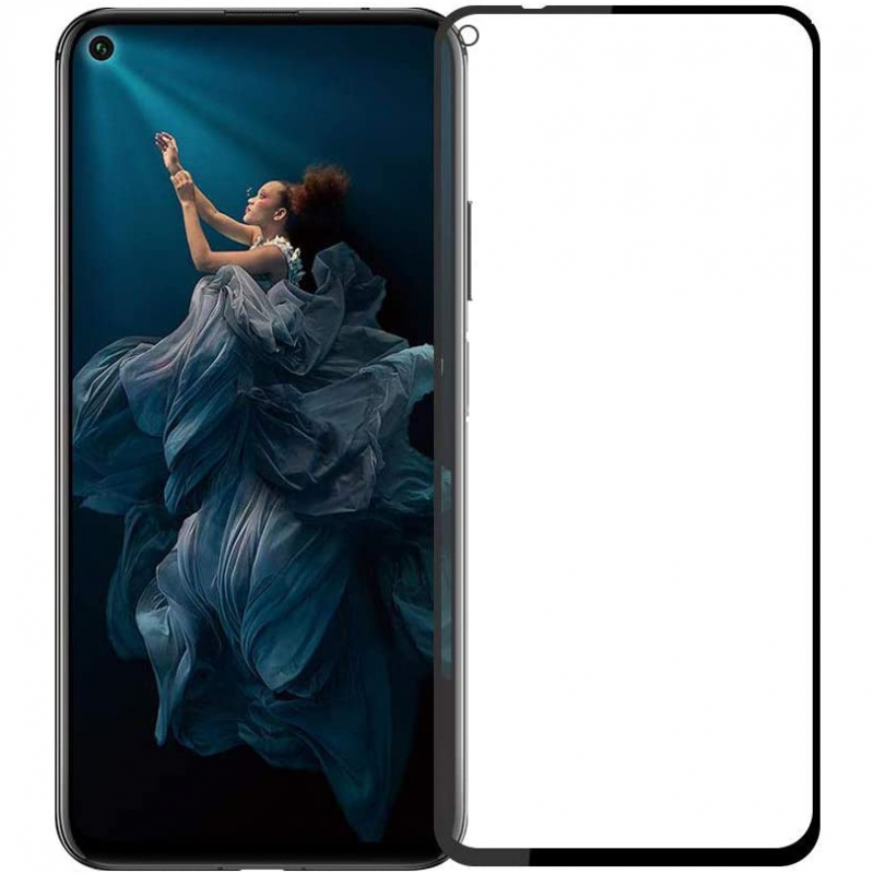 Защитное цветное стекло Mocoson 5D (full glue) для Huawei Honor 20 / Nova 5T