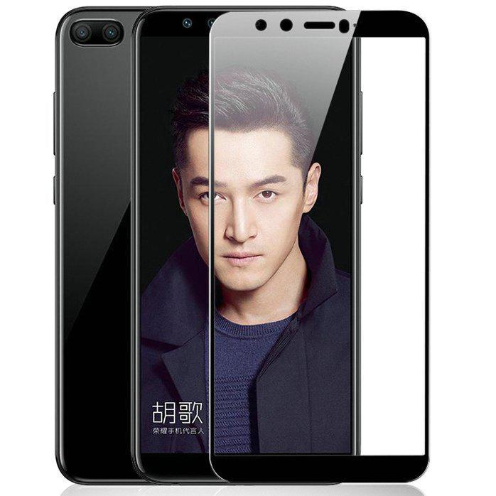 Защитное цветное стекло Mocolo (full glue) на весь экран для Huawei Honor 9 Lite