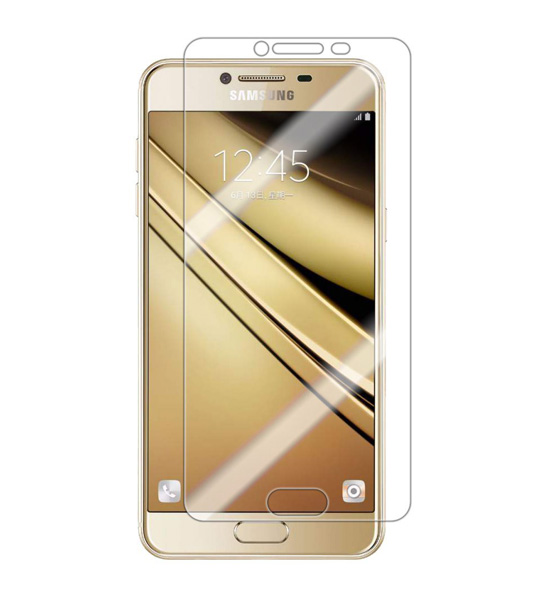 Защитное стекло Ultra 0.33mm для Samsung Galaxy C7 (в упаковке)