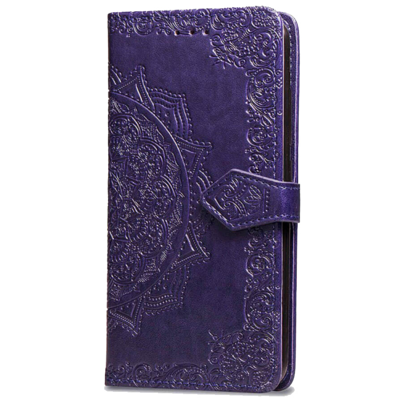 Кожаный чехол (книжка) Art Case с визитницей для Samsung Galaxy M20