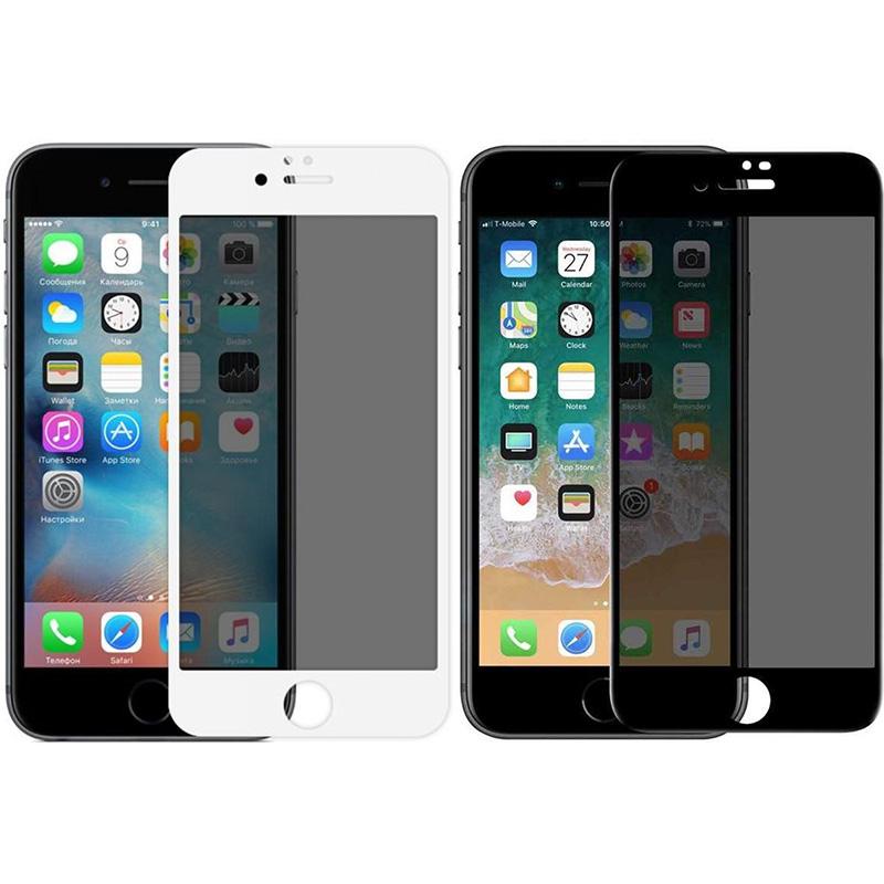 """Защитное стекло Privacy 5D (full glue) (тех.пак) для Apple iPhone 7 / 8 / SE (2020) (4.7"""")"""