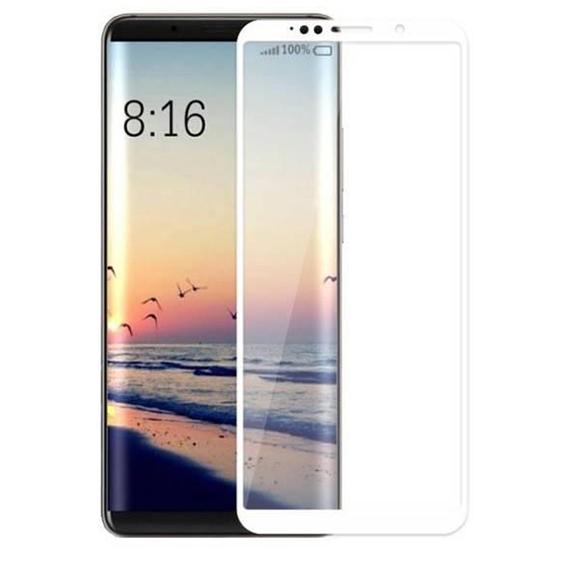 Защитное цветное стекло Mocolo (full glue) на весь экран для Xiaomi Mi 6X / Mi A2