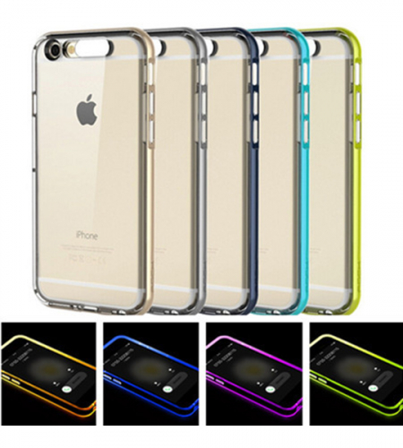 Светящийся TPU чехол ROCK Tube Series для Apple iPhone 6/6s (4.7