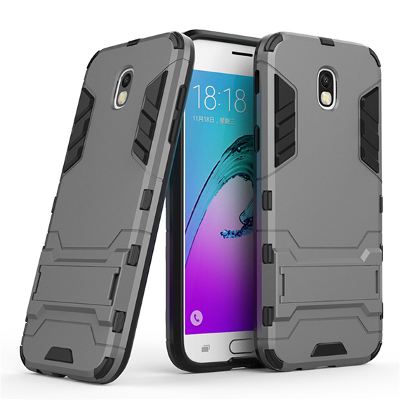 Ударопрочный чехол-подставка Transformer для Samsung J730 Galaxy J7 (2017) с мощной защитой корпуса