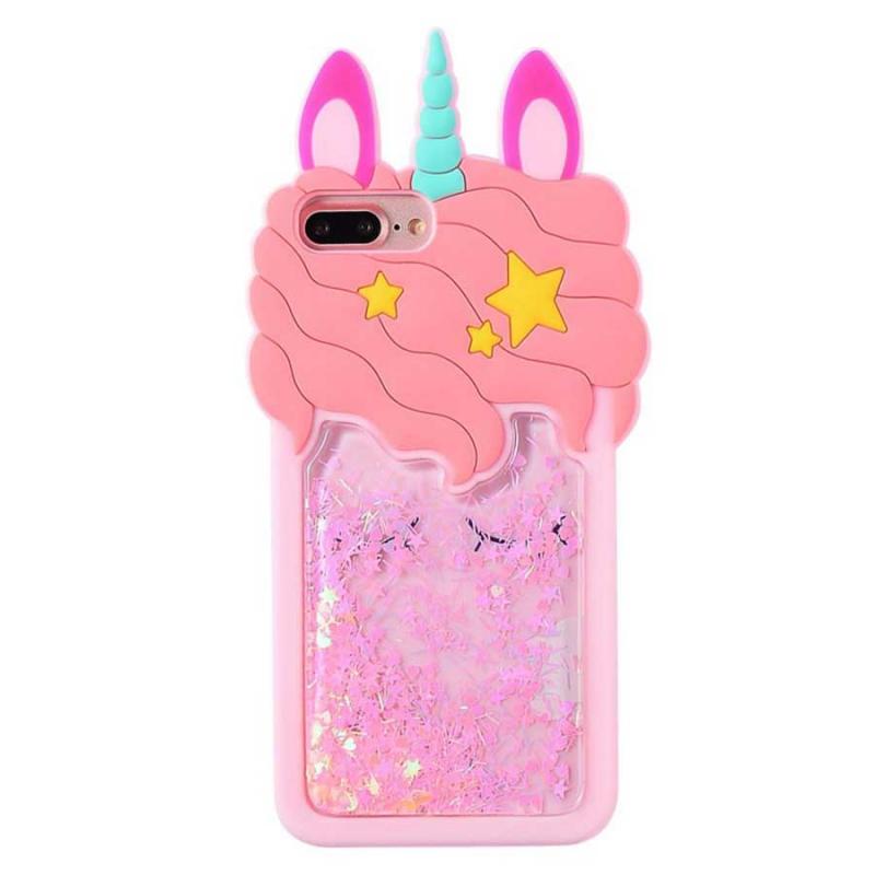 """Силиконовый чехол Unicorn 3D для Apple iPhone 7 plus / 8 plus (5.5"""")"""