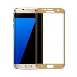 Защитное стекло 2.5D CP+ на весь экран (цветное) для Samsung G935F Galaxy S7 Edge
