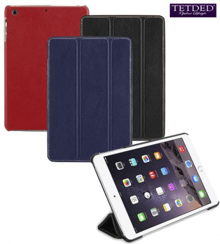 Кожаный чехол (книжка) TETDED для Apple IPAD mini/Apple iPad mini (Retina)/Apple IPAD mini 3