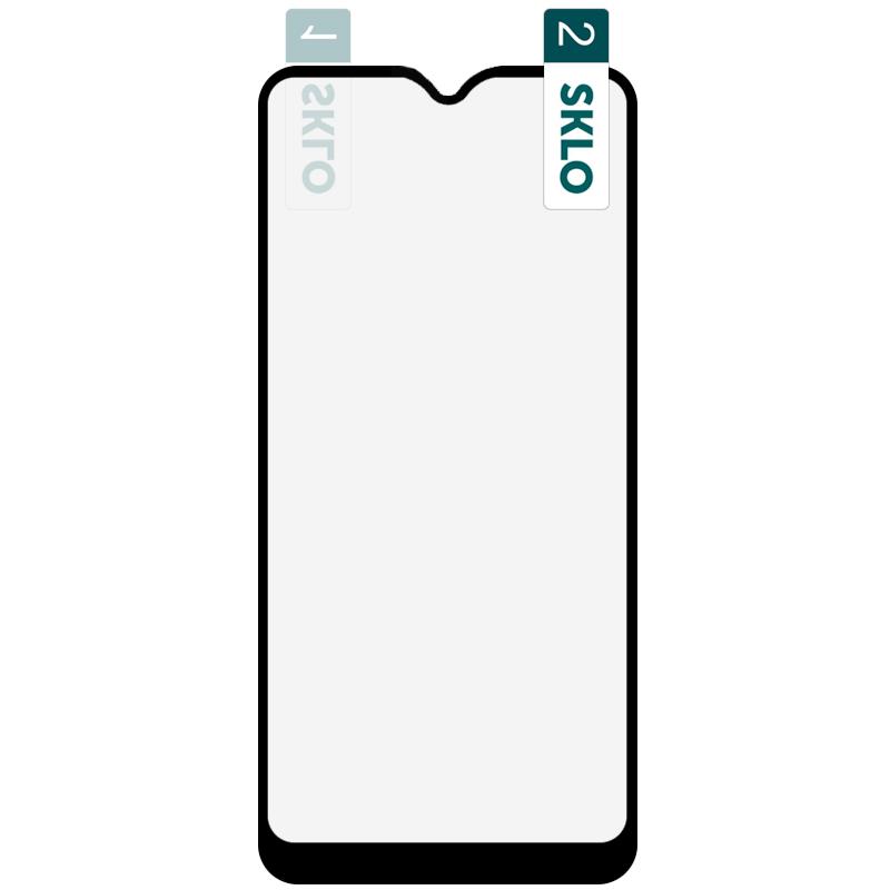 Гибкое защитное стекло SKLO Nano (тех.пак) для Oppo A11 / A31